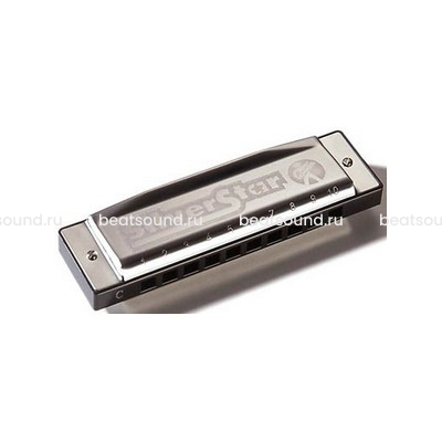HOHNER M50411 Silver Star Bb-major губная гармошка