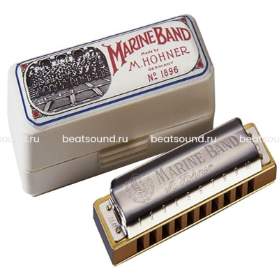 HOHNER Marine Band Classic F-major губная гармошка