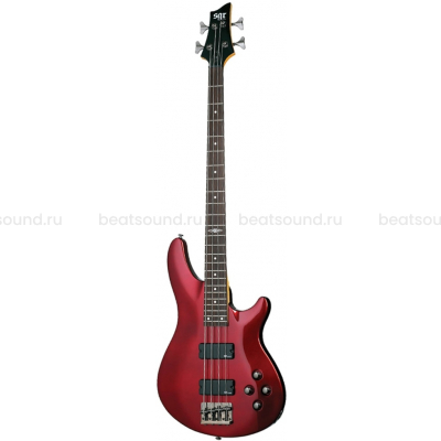 SCHECTER SGR C-4 BASS RED бас-гитара