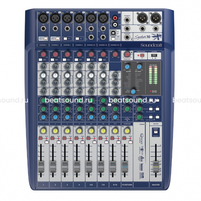 SOUNDCRAFT Signature 10 микшерный пульт