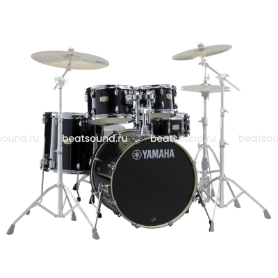 YAMAHA STAGE CUSTOM BIRCH SBP2F5 RAVEN BLACK ударная установка