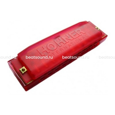 HOHNER Happy Color Red губная гармошка