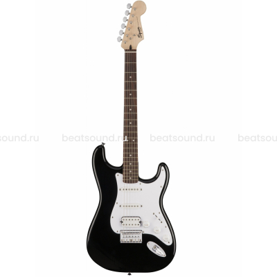 FENDER SQUIER BULLET STRATOCASTER HSS HARD TAIL, ROSEWOOD FINGERBOARD, BLACK электрогитара