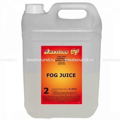 AMERICAN DJ FOG Juice medium жидкость для генератора дыма средней плотности