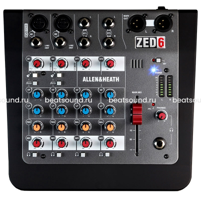 ALLEN&HEATH ZED6 микшерный пульт