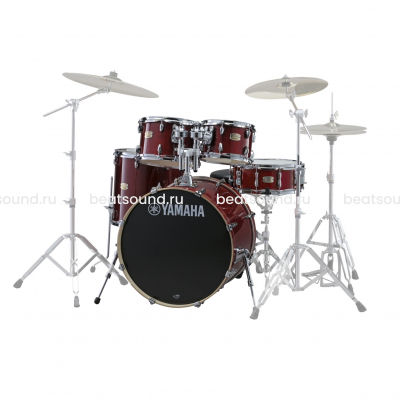 YAMAHA STAGE CUSTOM BIRCH SBP2F5 CRANBERRY RED ударная установка